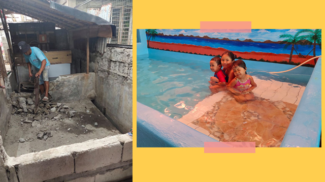 LOOK: This Lolo Converted Former Pigpen Into A Swimming Pool For His Apos