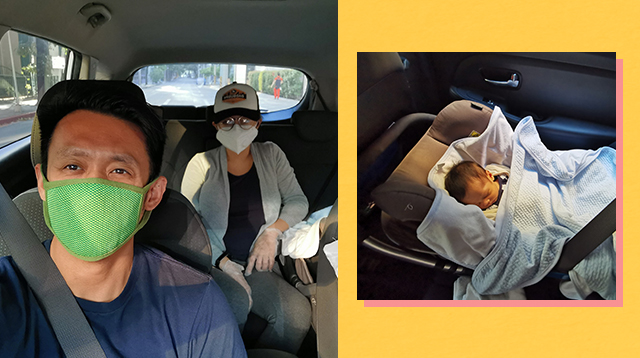 Couple Shares How They Managed The First Postpartum Checkup During ECQ
