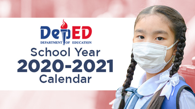 DepEd Releases Guidelines, Calendar for School Year 2020-2021