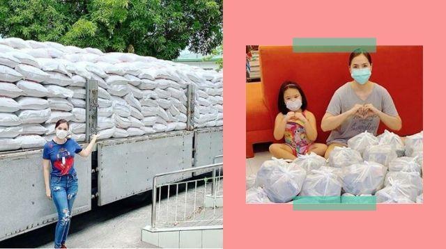 Sako-Sako Ng Bigas Donasyon Ni Ara Mina Sa Apektado Ng COVID-19