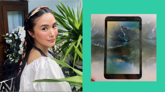 Heart Evangelista Gives Away Tablets To Kids Who Do Not Have Anything To Use For Online Classes