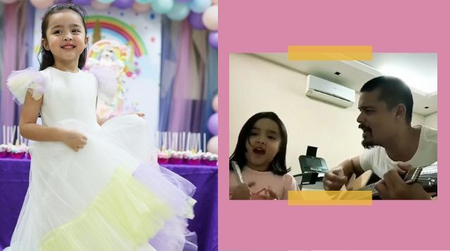 Zia's Duet With Dad Dingdong Dantes Is Your Source Of Weekend Good Vibes