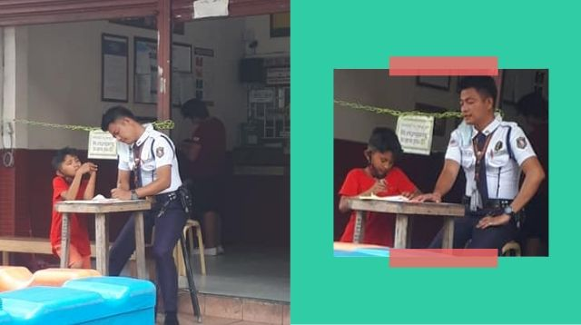 Security Guard Teaches Street Kids To Read And Write Amid Community Quarantine