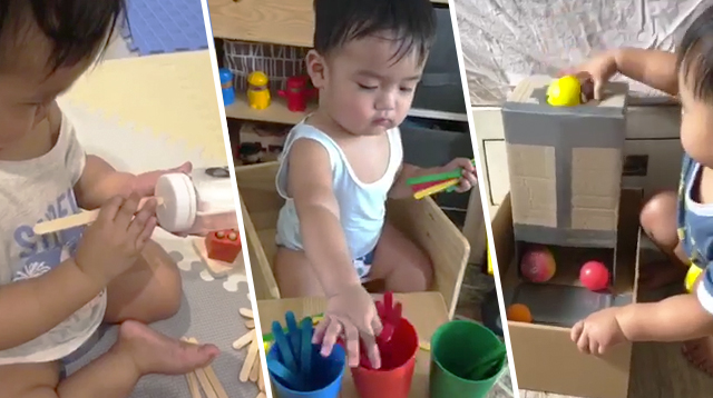Learning From Home? These Activities Can Get Your Toddler Ready For Preschool