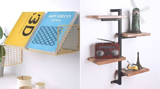 Give A Small Space More Storage With Hanging Shelves Below P1,500