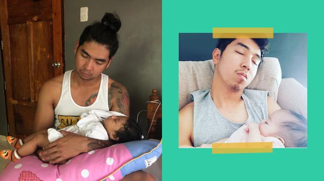 Huli Ka! 8 Palusot Ni Daddy Kapag Nakatulugan Ang Pag-Aalaga Kay Baby