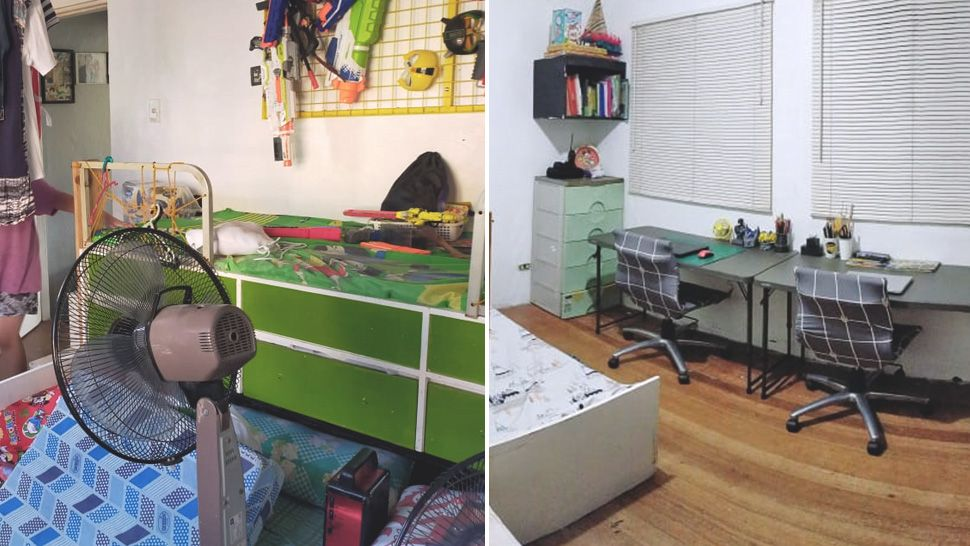 How This Mom Repurposed Her Kids' Room To Make Space For Learning At Home