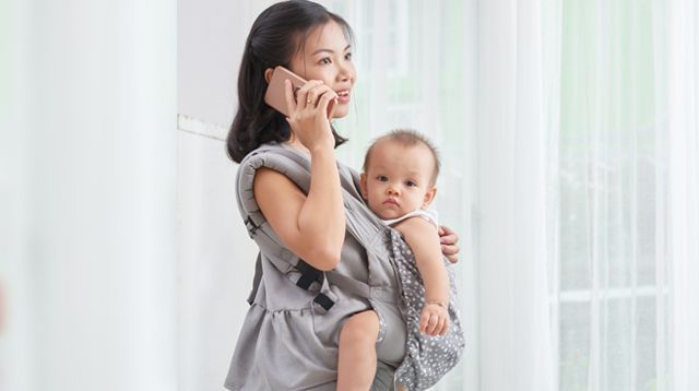 Always On Your Phone While Caring For Baby? How It Can Hurt Your Kids, Say Experts