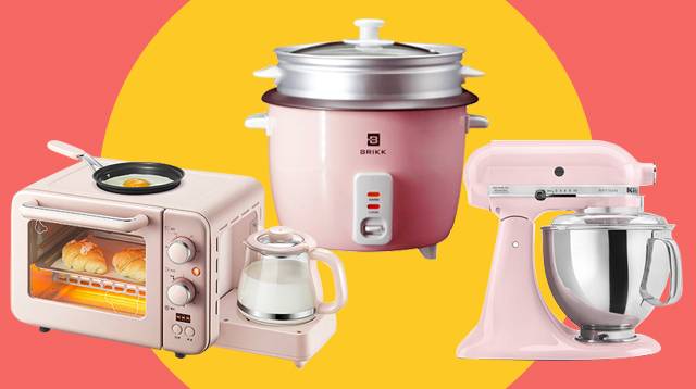 10 Pink Appliances To Brighten Up Your Kitchen (And Mood), Starting At P1,299