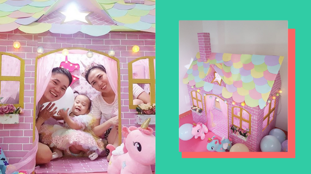 This Dreamy, Instagram-Worthy Unicorn Playhouse Only Cost P549 To Make!
