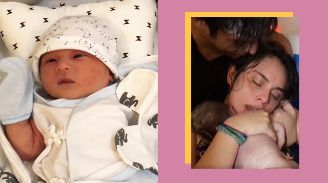 Pancho Magno Proudly Shares Wife Max Collins' Water Birth: 'You Are Meant To Be A Mother'