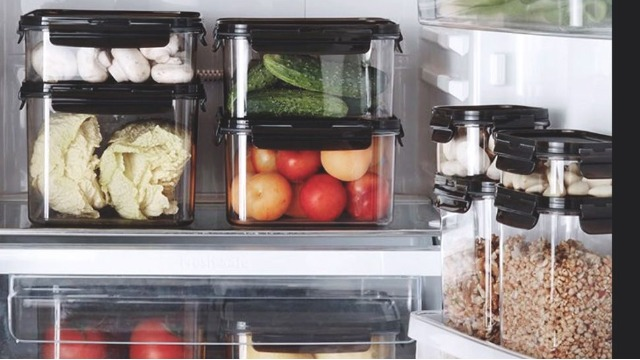 Organize Your Fridge With These Modular Food Containers