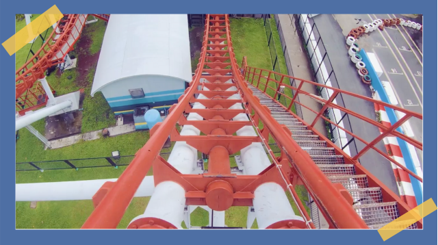 LOOK! Classic Amusement Park Rides, Mayroon Nang Virtual Version Sa Parkeng Ito