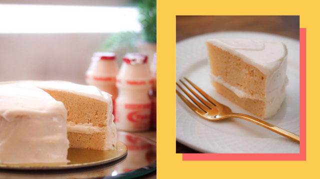 Yakult Cake Is The Newest Dessert You'd Want To Try With The Kids (It Costs P450!)