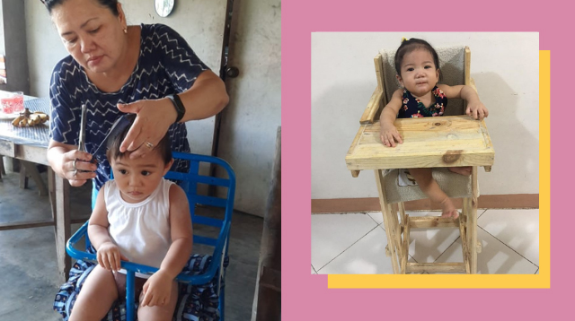 Thank You, Tito! These High Chairs Were A Labor Of Love For P600 And Below