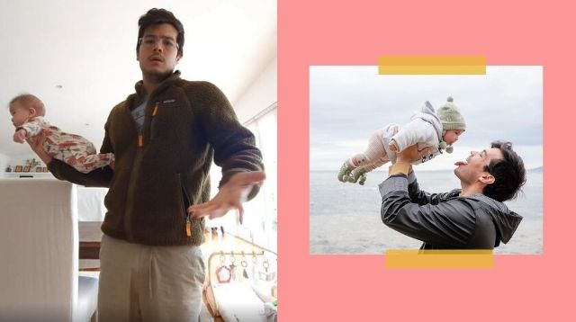 Erwan Heussaff Makes The Classic Daddy Move After Letting Anne Curtis Sleep In