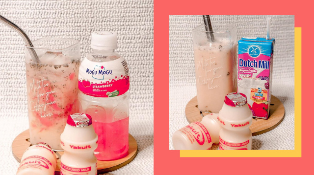 Level Up Yakult With These Refreshing Drinks You Can Make At Home