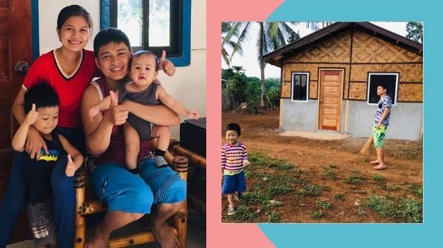 Dad Builds Bahay Kubo-Inspired Dream Home During Quarantine