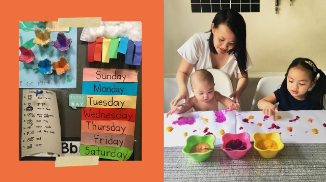 Preschool Teacher Shares Learning Activities For Daughter Who Skipped School This Year