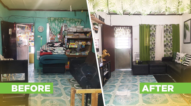No Interior Designer Needed! Family Renovates Living And Dining Rooms For P15,000