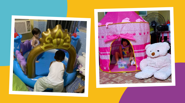 Princess Tent Kapalit Ng 2 Kilong Manok! The Best Items Moms Got From Bartering