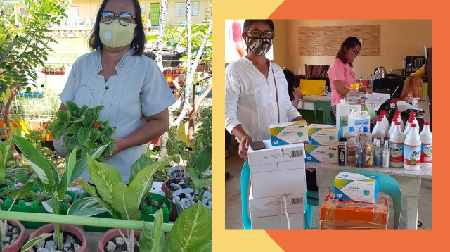 Para Sa Mga Bata! Teachers Bartered Plants For Their Students' School Supplies