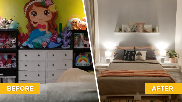 Mom Shopped On Social Media For Budget Makeover: 'No More Sleeping On The Floor!