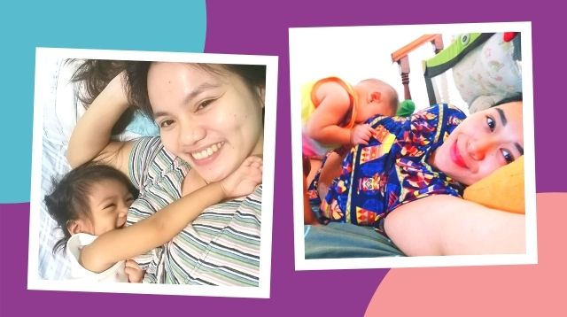 Moms Show How Their Kids Become Acrobats When Breastfeeding!