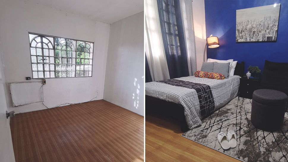 This DIY Small Bedroom Makeover Was Done with a P25,000 Budget
