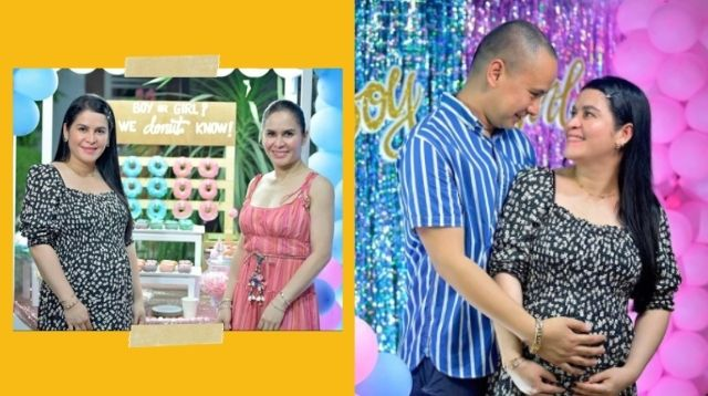 Jinkee Paquiao Joins Twin Sister Janet's Gender Reveal Party