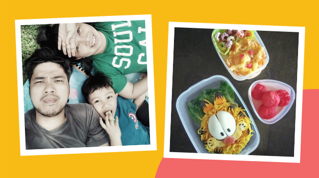 Pinay Mom Still Makes Fun, Healthy Baon For Her Child's Online Class! See Her Recipes
