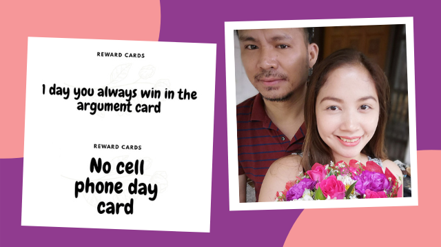 This Husband Gets Best Hubby Award For Gifting Wife Redeemable 'Reward Cards'