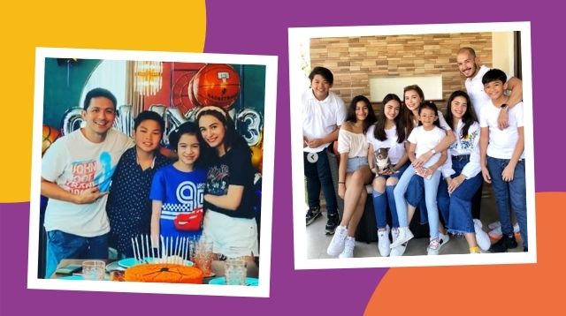 Jennylyn And Dennis, Sunshine And Macky Prove That 'Blended Families' Can Get Along