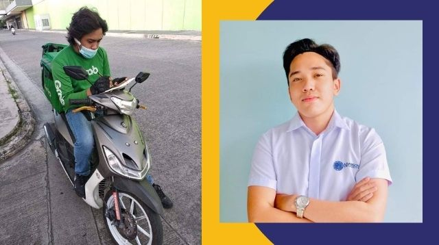 Grab Driver Takes Online Classes In Between Deliveries: 'Para Po Sa Pangarap Natin'
