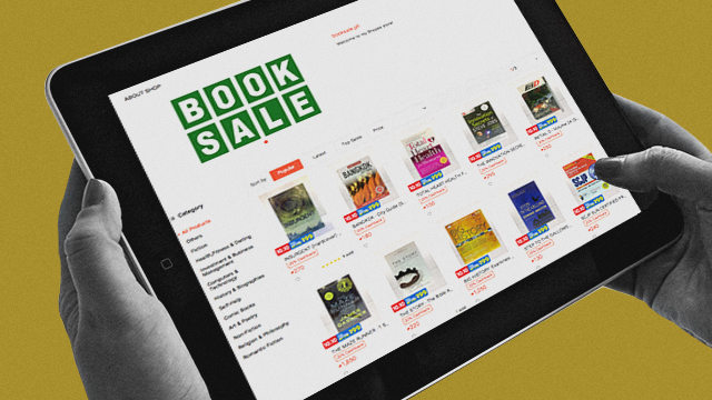 In Case You Missed It! Booksale Now Has An Online Store
