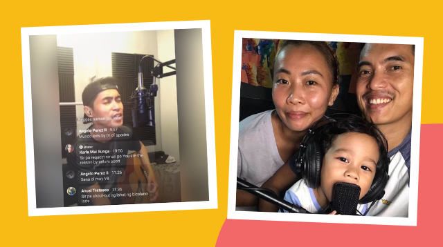 This Singer Dad Does Mini Concerts Online To Earn For His Family