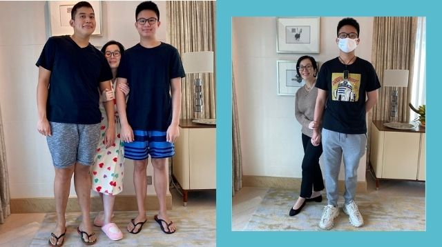 Bimby Is A 6-Footer At Age 13! Kris Aquino Believes This Is The Secret