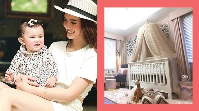 Sofia Andres Had A Nursery Makeover Done In Just 3 Days