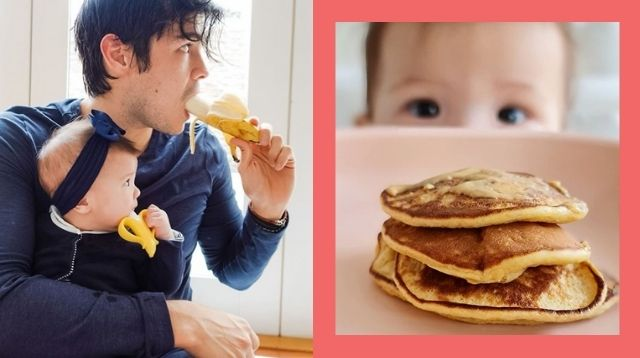 Erwan Heussaff Shares Peanut Butter Pancake Recipe He Made For 7-Month-Old Daughter