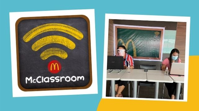 McDonald's Turns Party Rooms Into Working Spaces For Teachers