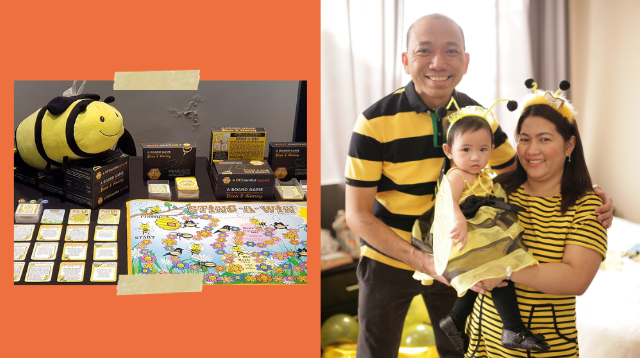 Pinoy Couple Designs 'Bee-Inspired' Board Game That's Now Being Sold Internationally!