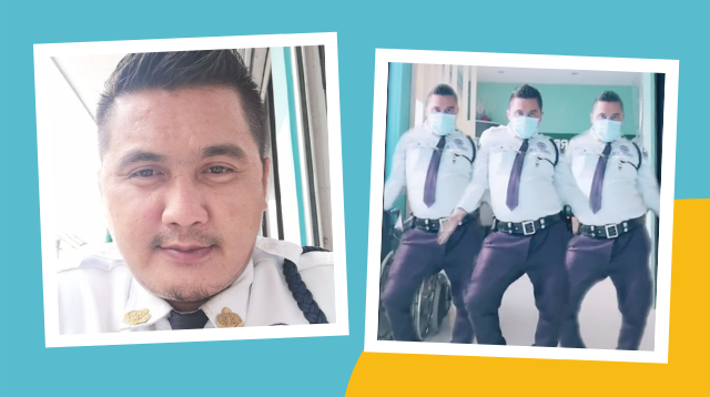 This Hospital Security Guard Is Wowing Netizens With His Tiktok Dance Moves