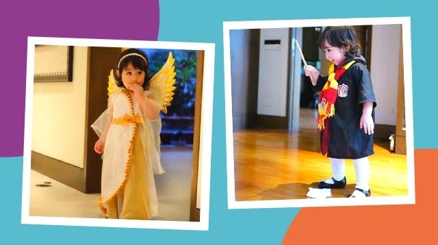 Halloween Throwback! Scarlet Snow's Halloween Costumes At Age 1