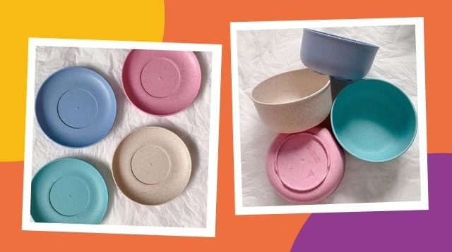 Ready For The Holidays? Shop For These Pretty Pastel Plates And Bowls For Only P75 each
