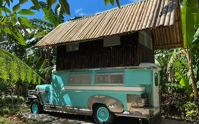 Tiny Home Inspo! This Bed And Breakfast Turned An Old Jeepney Into A Tiny House