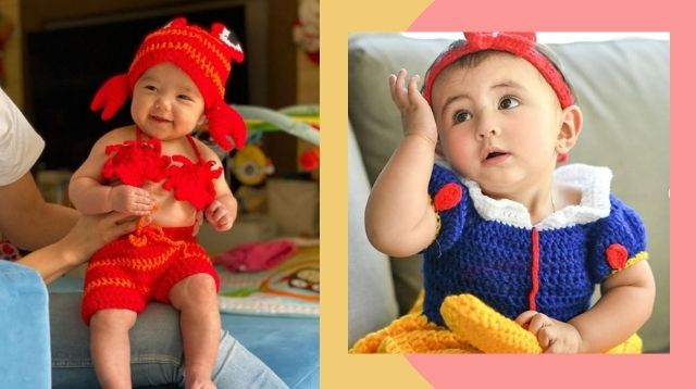 Iya Villania And Sofia Andres Go Crochet For Babies' First Halloween Costumes