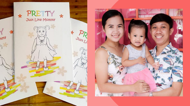 Birthday Giveaway Idea! Pinoy Couple Makes Personalized Storybook For Daughter