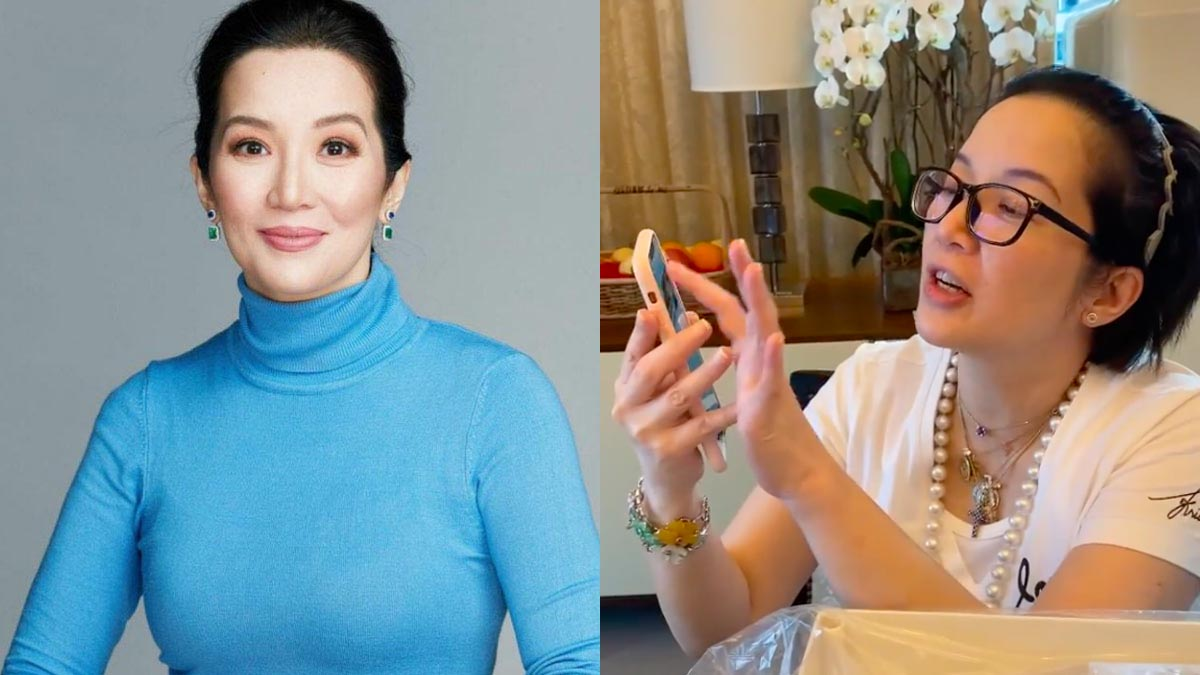 Kris Aquino's Dining Room Became A Mini Store After 'Drunk Buying' So Much Online
