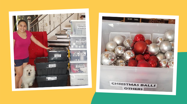 Heto Ang Sikreto Ni Mommy Para 'Di Agad Maluma Ang Mga Christmas Decors