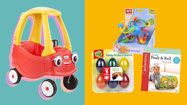 11 Of The Best Brain-Building Toys For Babies (1 Month to 1 Year)